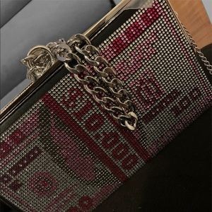 Handbags - Chained Clutch Purse